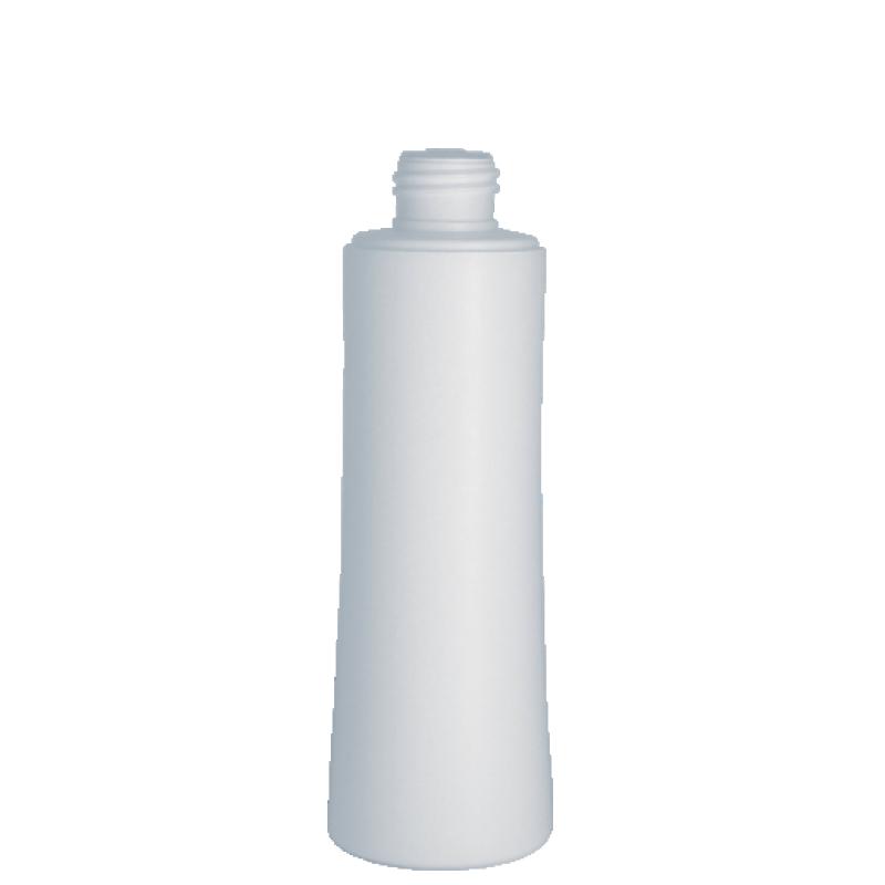 Flacone conico 200 ml HDPE/PP, collo 24/410, linea SHANGHAI