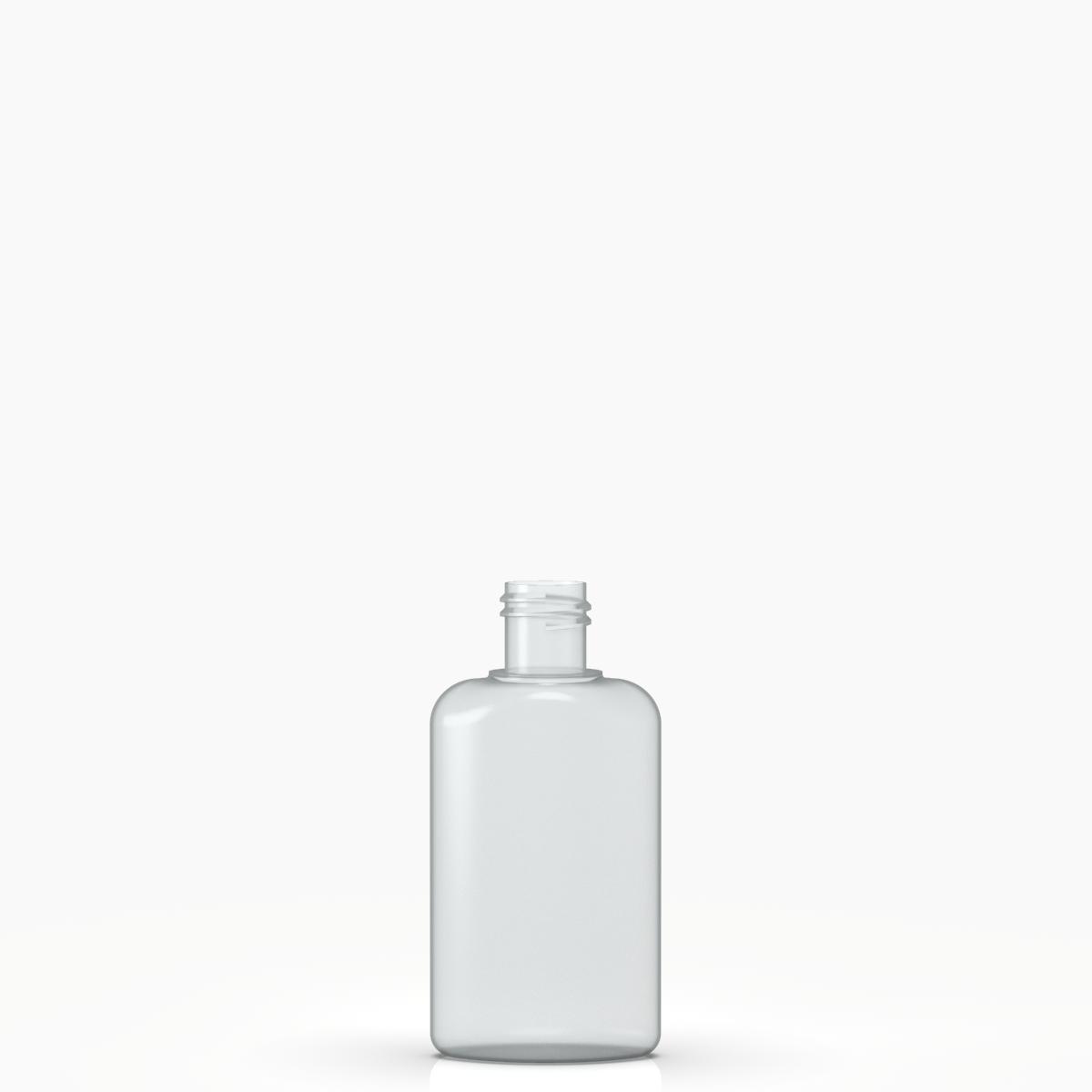 Moulded bottle 80ml PVC, neck 20/415, style BERNA