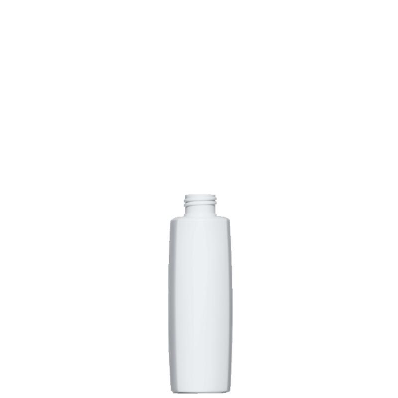 Flacone quadrato 200 ml HDPE/PP, collo 24/410, linea DAMASCO (Reale)
