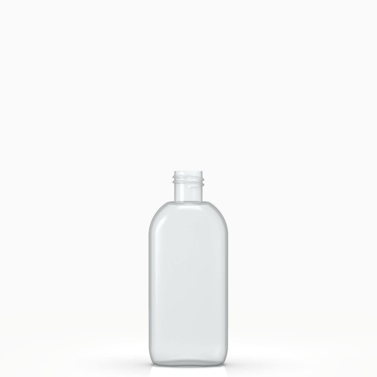 Round bottle 100 ml PVC, neck 20/415, style BERNA