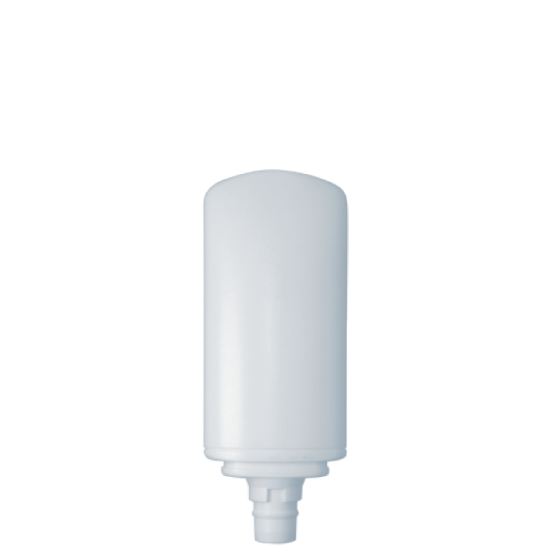 Tottle 150 ml HDPE/PP, neck snap-on, style FRANCOFORTE