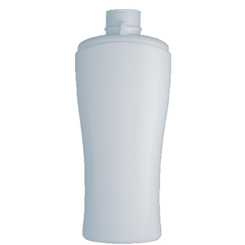 Moulded bottle 250ml HDPE/PP, neck snap-on, style MYKONOS