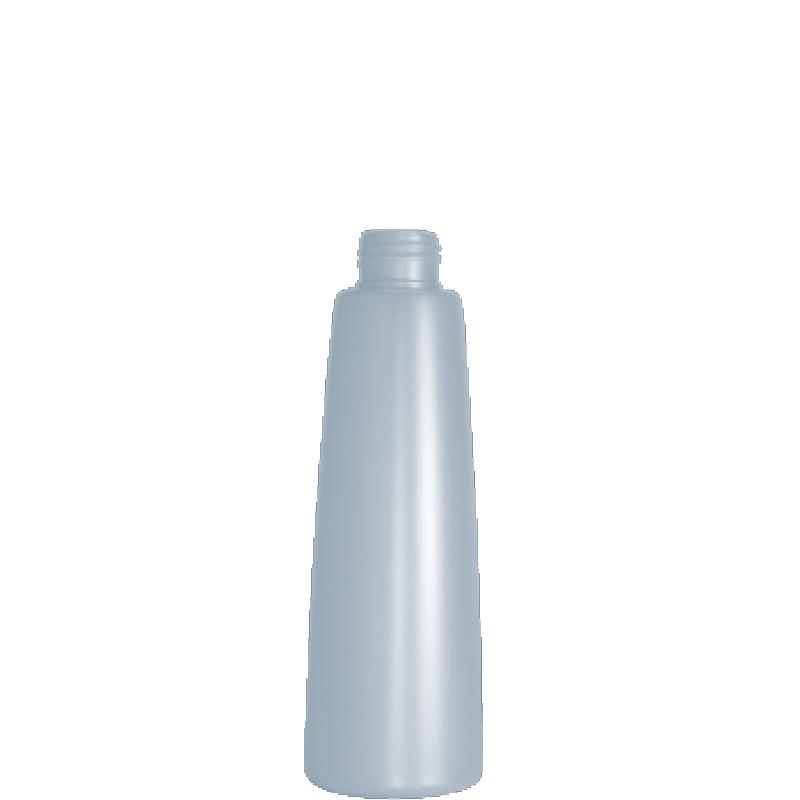 Flacone conico 200 ml HDPE/PP, collo 24/410, linea ROMA