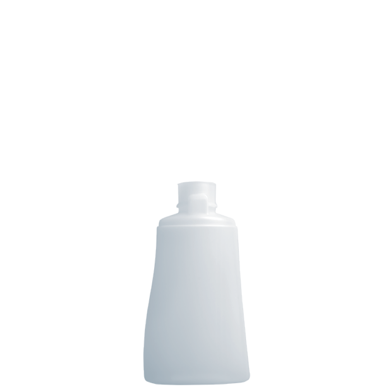 Flacone trapezoidale 150 ml, HDPE/PP, collo snap-on, linea MELBOURNE