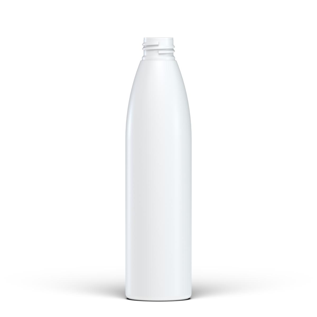 Flacone cilindrico 250 ml HDPE/SOFT TOUCH , collo 24/410, linea ISCHIA