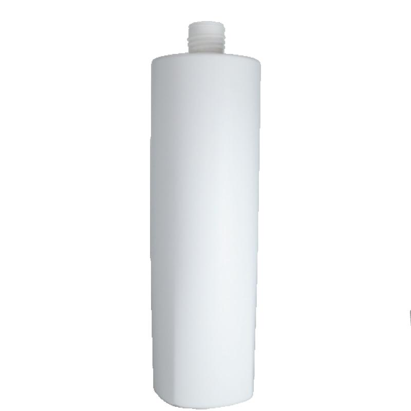 Flacone semi-cilindrico 1000 ml, HDPE/PP, collo 28/415, linea LOS ANGELES
