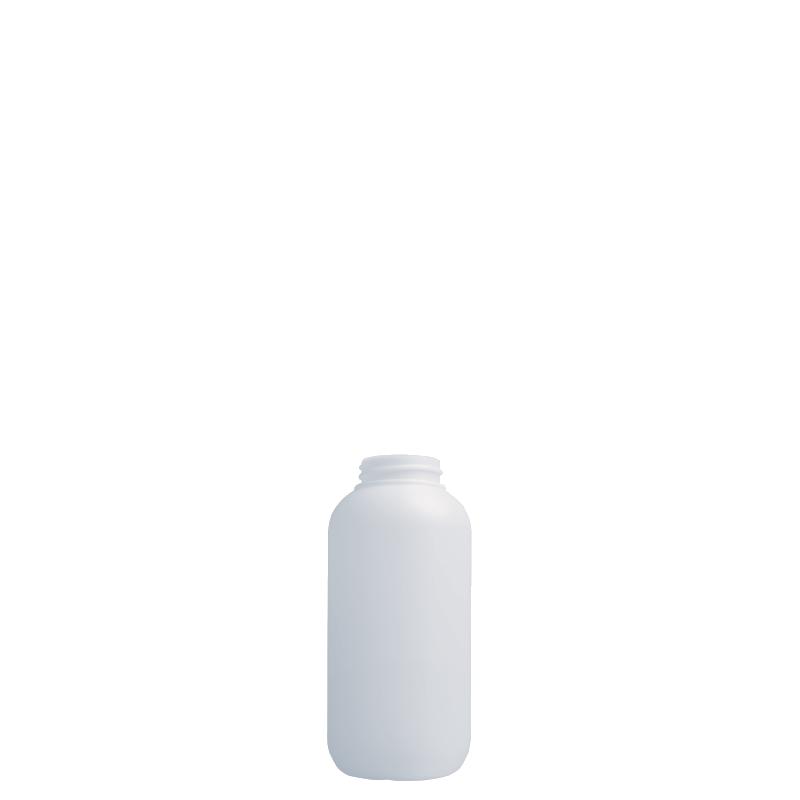 Flacone cilindrico 150 ml HDPE/SOFT TOUCH, collo 33/400, linea ISCHIA