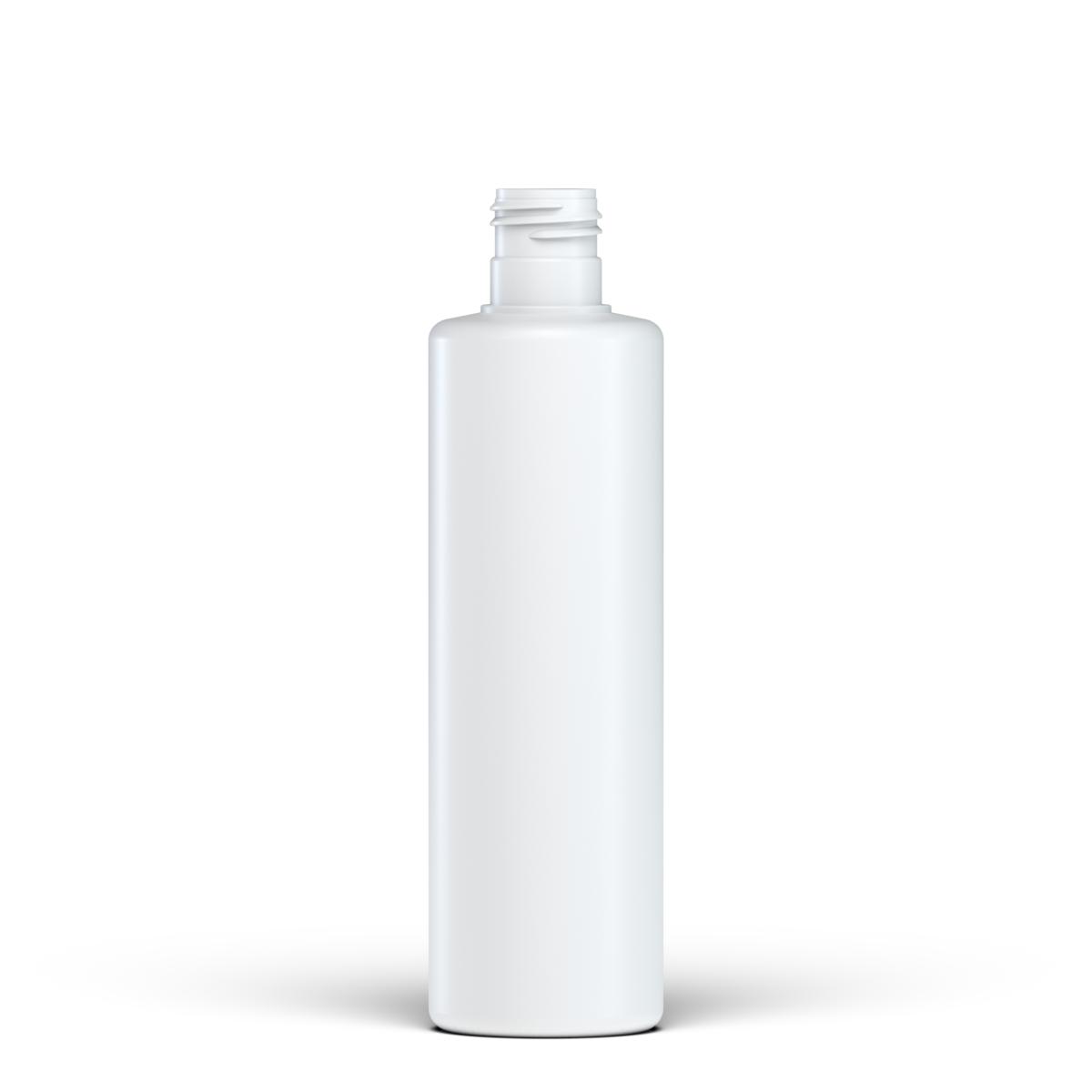 Flacone cilindrico 250 ml HDPE/PP, collo 24/415, linea NEW YORK