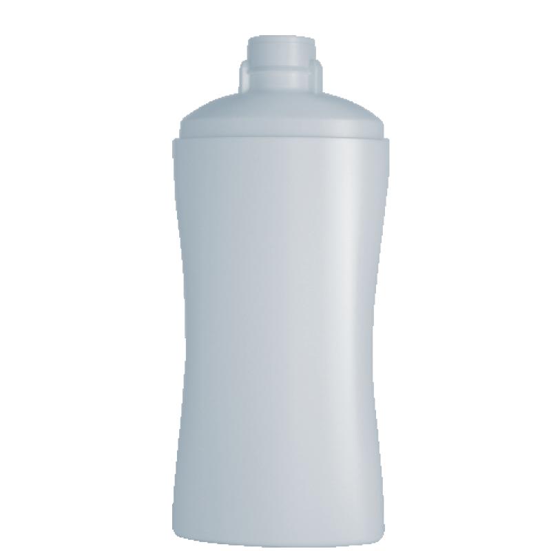 Flacone trapezoidale 250 ml HDPE/PP, collo snap-on, linea STOCCOLMA