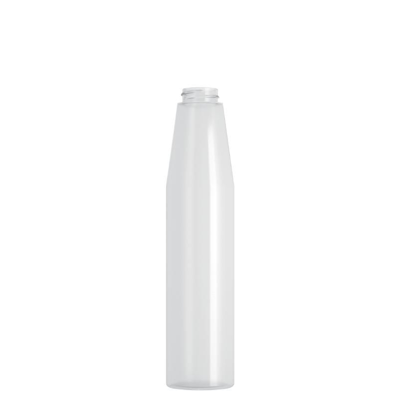 Flacone cilindrico 300 ml LDPE, collo 28/400, linea MILOS