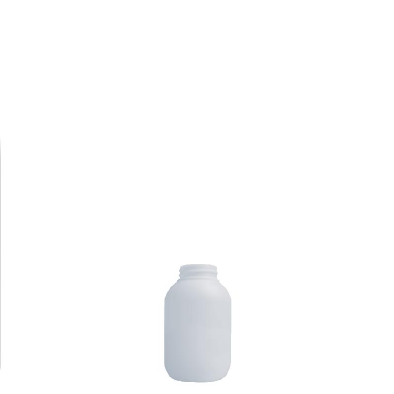 Flacone cilindrico 75 ml HDPE/SOFT TOUCH, collo 33/400, linea ISCHIA