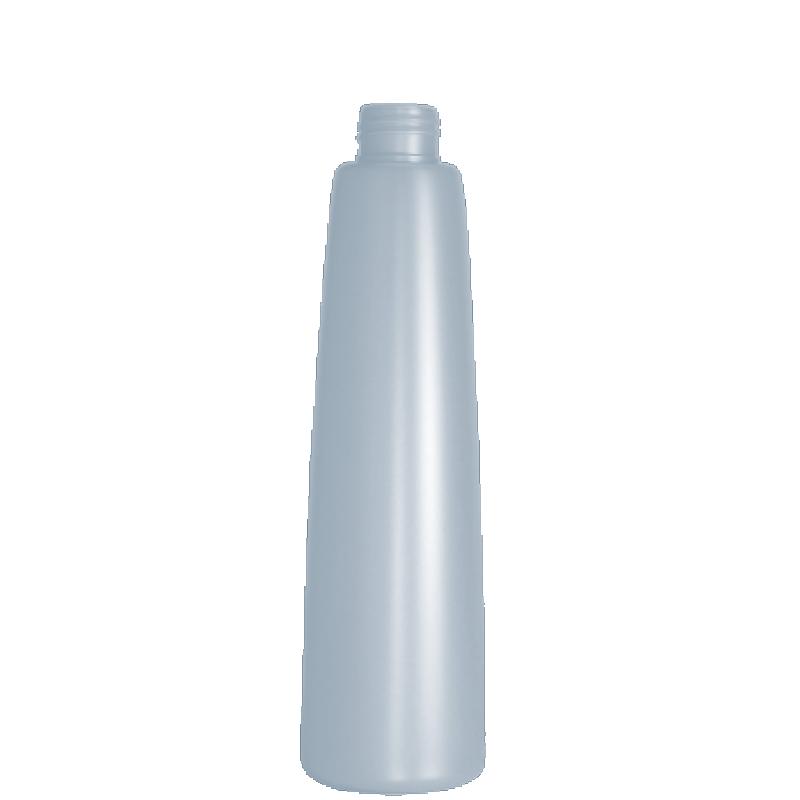 Flacone conico 250 ml HDPE/PP, collo 24/410, linea ROMA