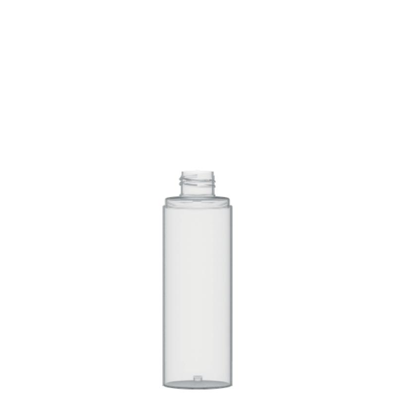 Flacone circolare 150 ml PET, collo 24/410, linea FORTALEZA