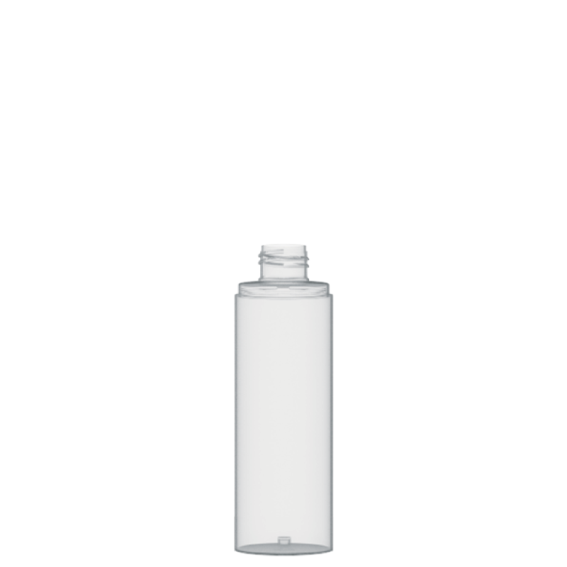 Flacone circolare 150 ml PETG, collo 24/410, linea FORTALEZA