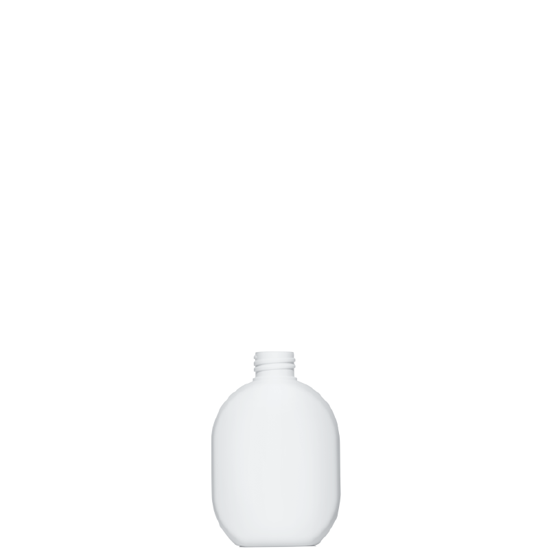 Moulded bottle 250 ml HDPE, neck 28/410, style TALLIN