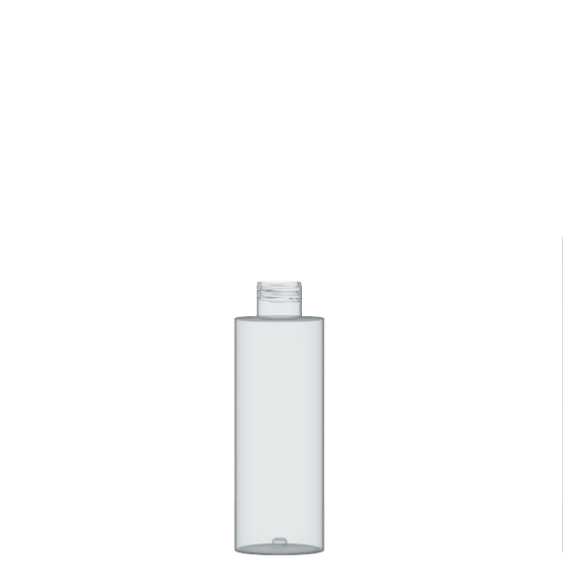 Flacone circolare 150 ml PETG, collo 24/410, linea DUBAI