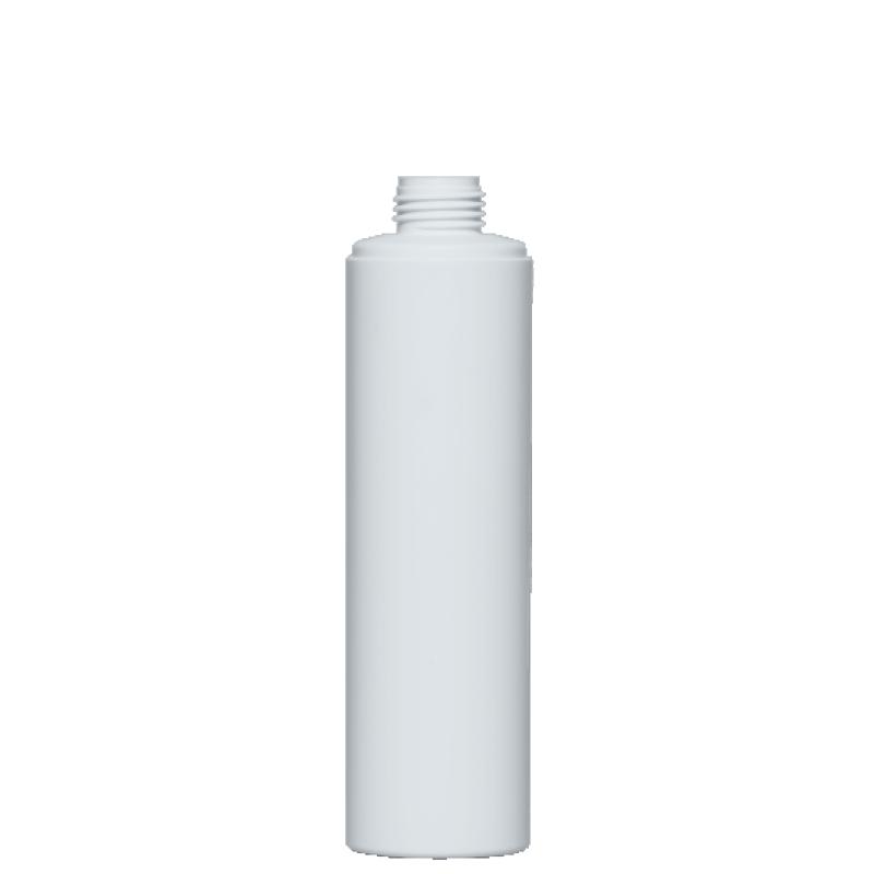 Flacone circolare 200 ml HDPE/PP, collo disc-top, linea NEW YORK