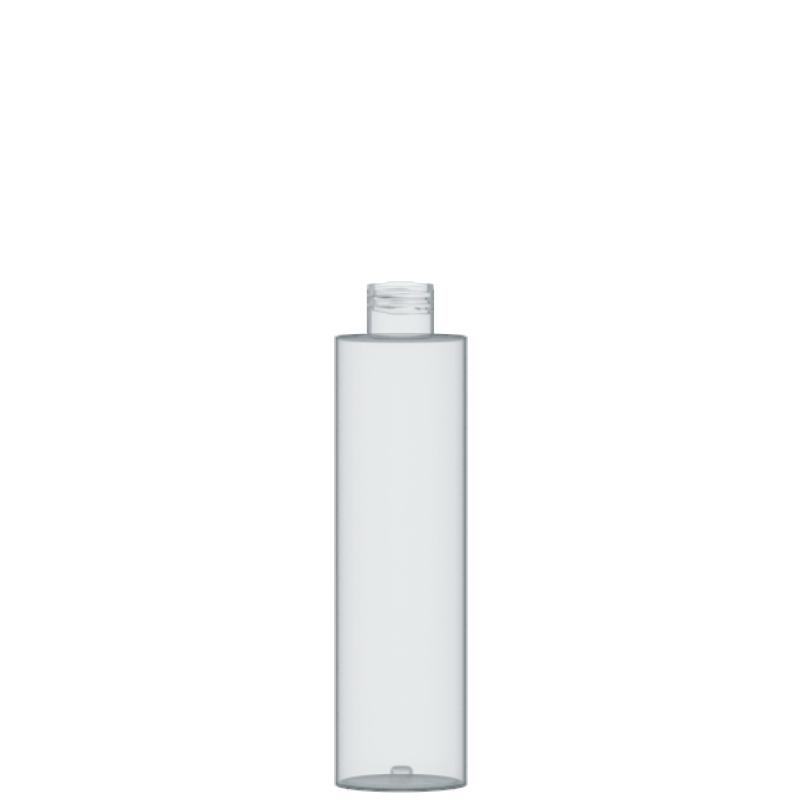 Flacone circolare 200 ml PETG, collo 24/410, linea DUBAI