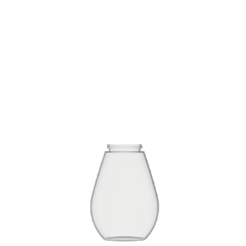 Flacone a goccia 100 ml PETG, collo snap-on, linea TROPEA