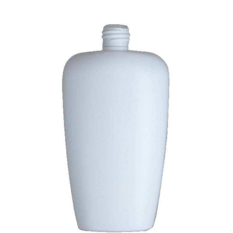 Flacone trapezoidale 400 ml HDPE/PP, collo 24/410, linea FIRENZE