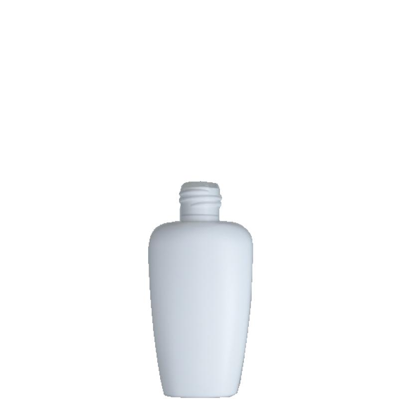Trapezoidal bottle 50 ml HDPE/PP, neck 20/415S, style FIRENZE