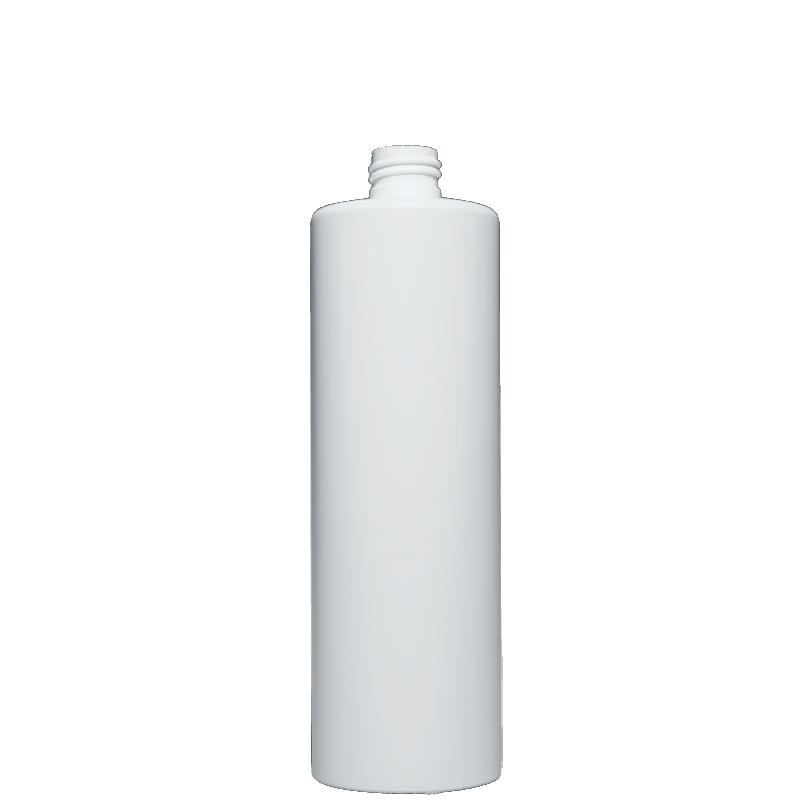 Flacone circolare 500 ml HDPE/PP, collo 24/410, linea NEW YORK