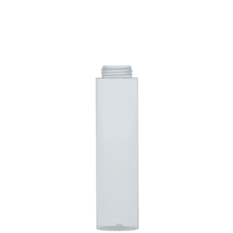 Flacone circolare 200 ml PETG, collo 33/400, linea DUBAI
