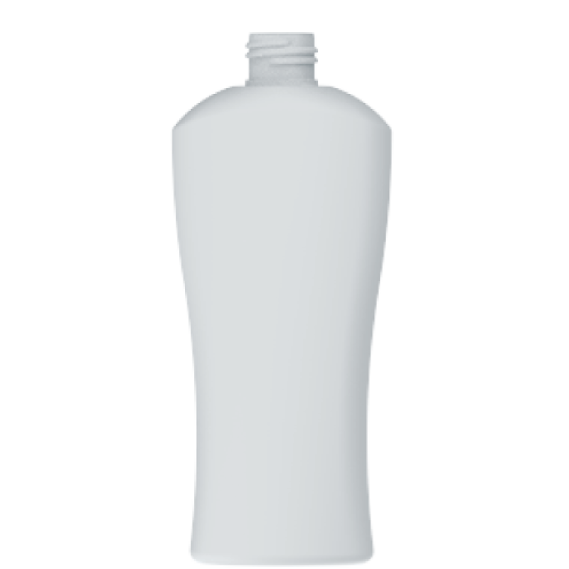 Moulded bottle 250ml HDPE/PP, neck 24/410, style MYKONOS