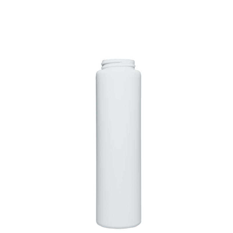 Flacone circolare 200 ml HDPE/PP, collo 38/400, linea NEW YORK