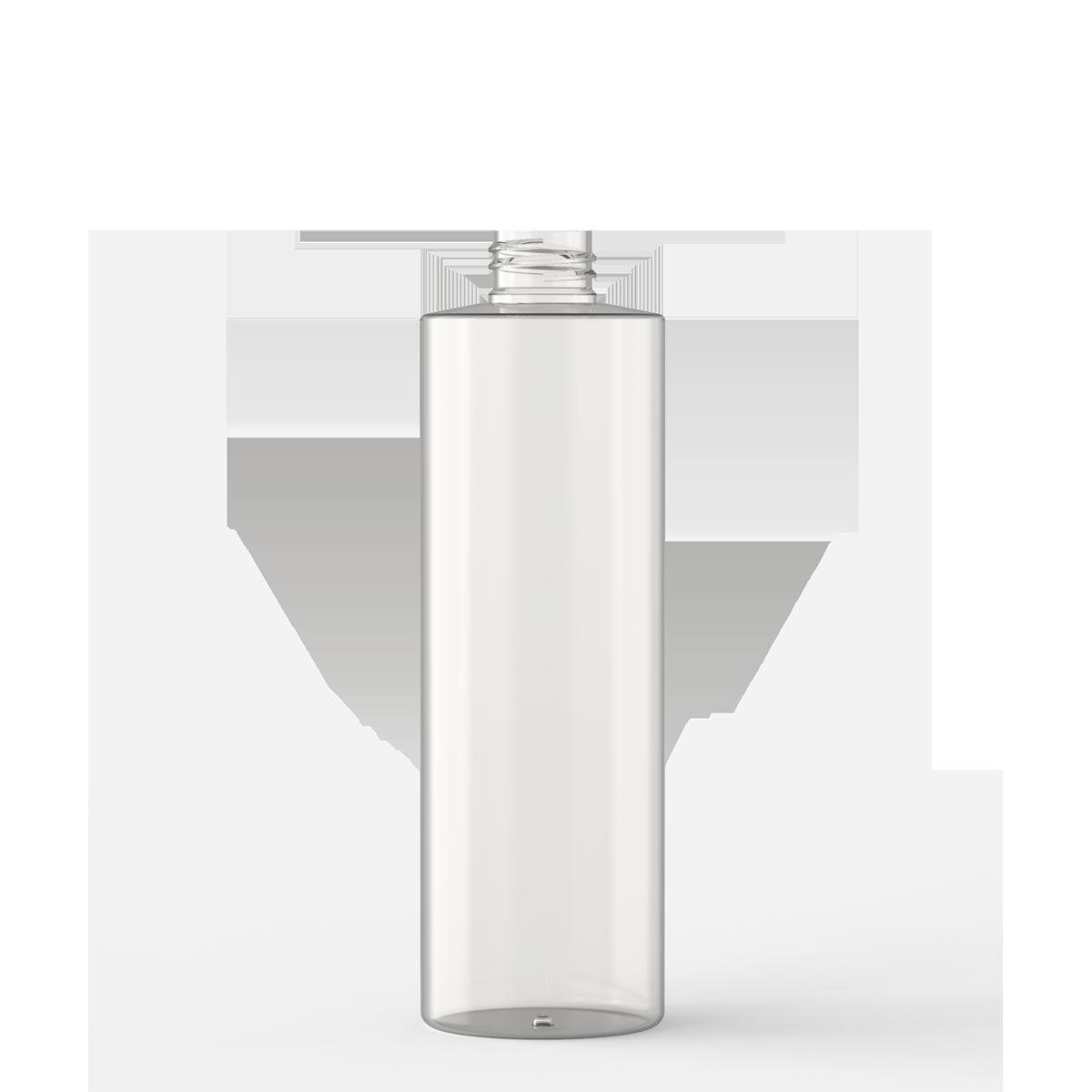 Flacone cilindrico 500 ml PETG, collo 28/410, linea MANHATTAN