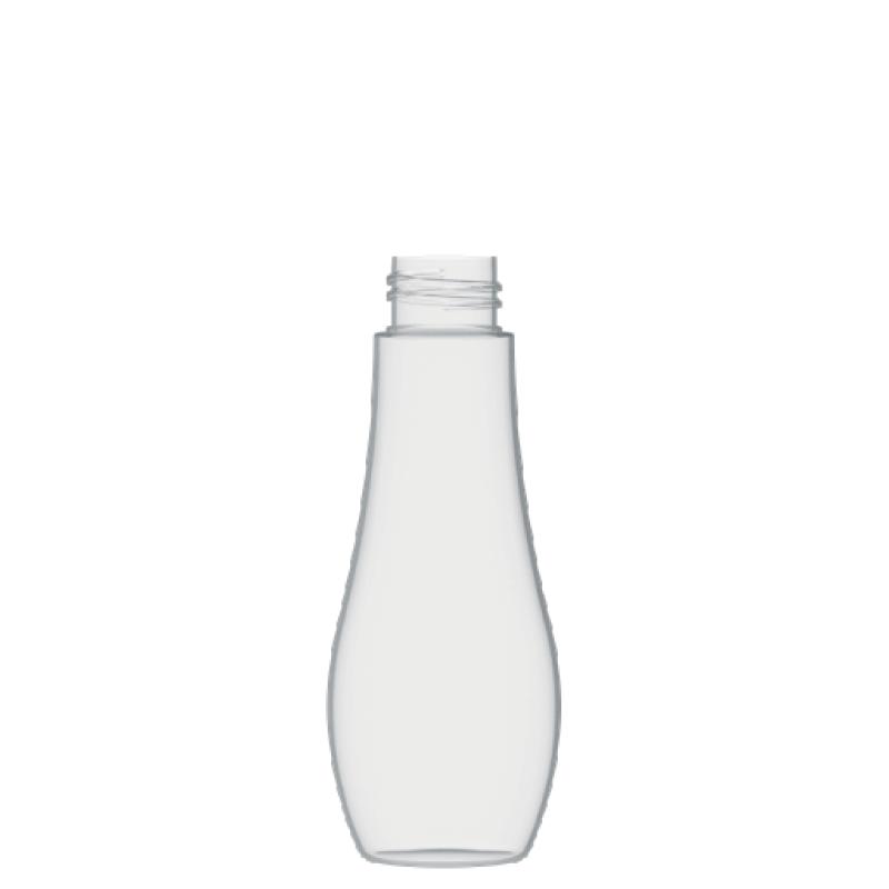 Flacone a goccia 125 ml PETG, collo 28/410, linea TROPEA (Reale)