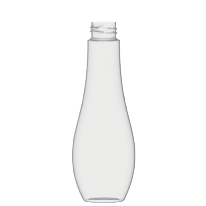 Flacone a goccia 200 ml PETG, collo 28/410, linea TROPEA (Reale)