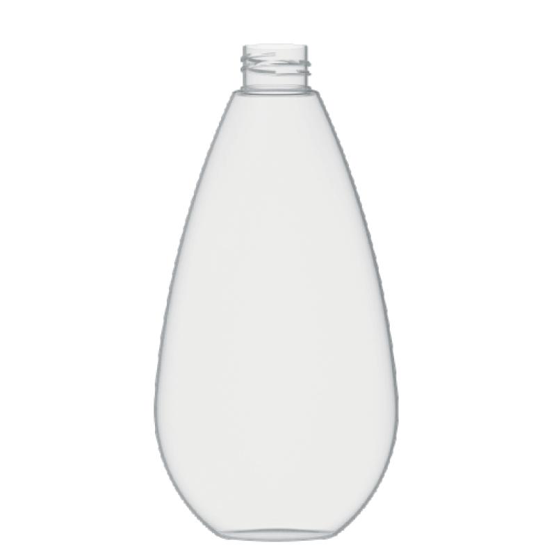 Flacone a goccia 400 ml PETG, collo 28/410, linea TROPEA (Reale)