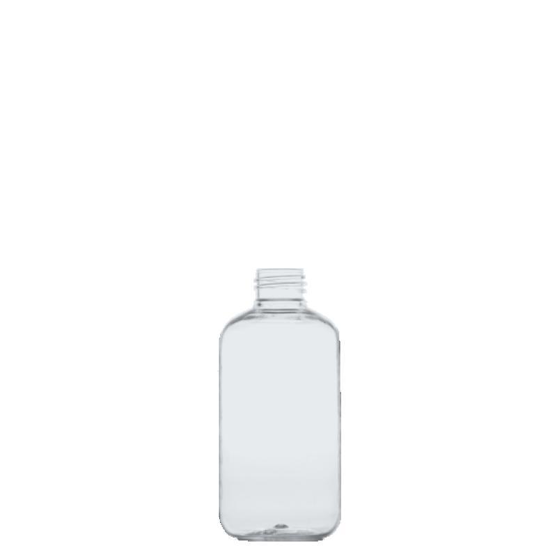 Flacone circolare 200 ml PET, collo 24/410, linea ISCHIA