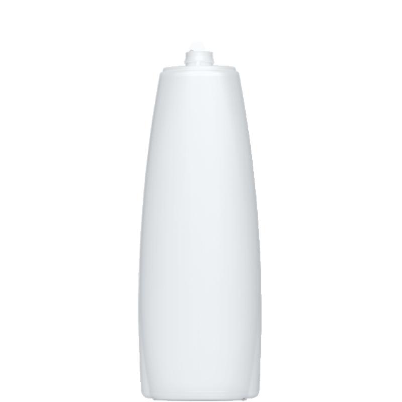 Flacone ovale 1000 ml HDPE, collo snap-on, linea TALLIN