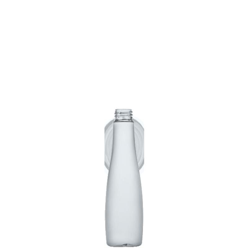 Flacone circolare 150 ml, PETG, collo 24/410, linea MALDIVE
