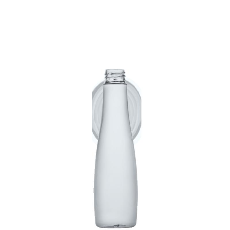 Flacone circolare 300 ml, PETG, collo 28/410, linea MALDIVE (Reale)