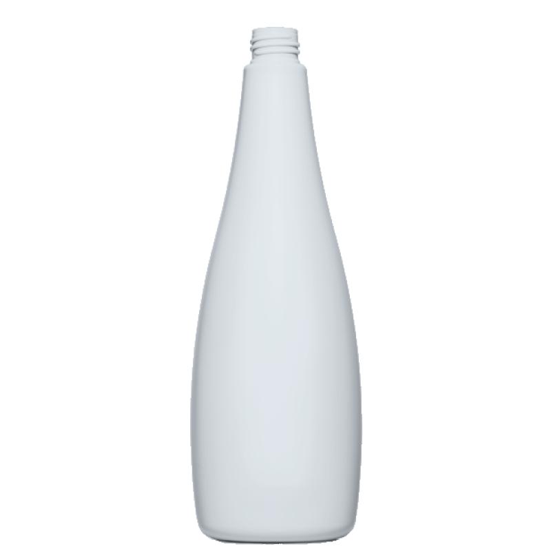 Flacone circolare 1000 ml, HDPE, collo 28/410, linea MALDIVE