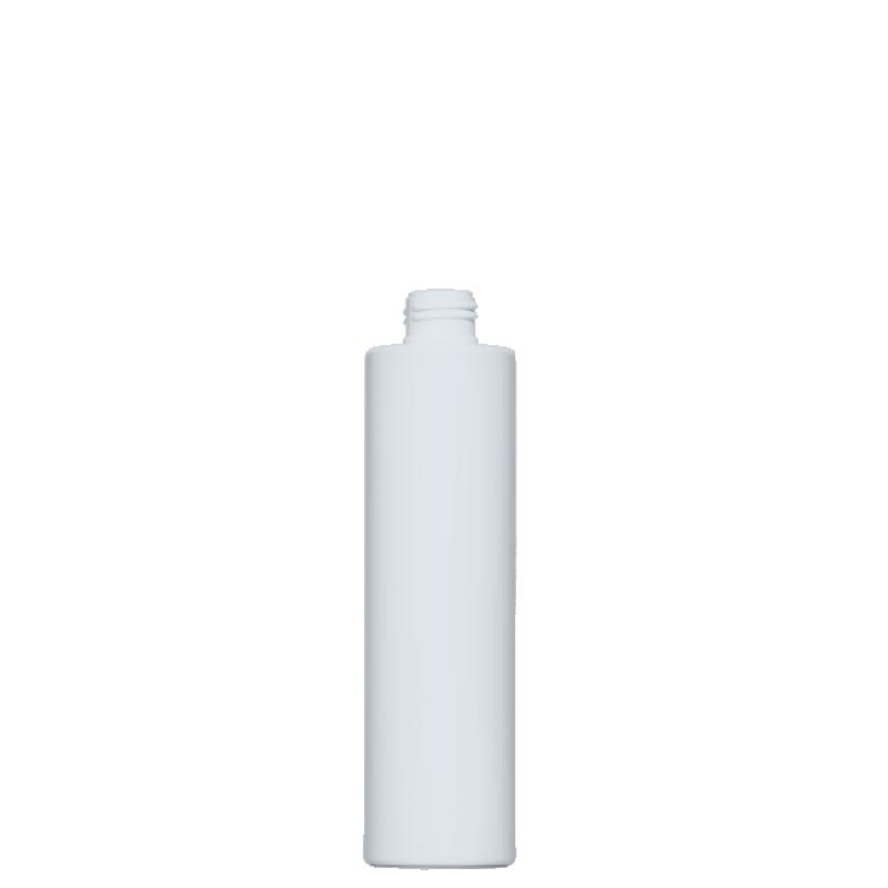 Flacone circolare 250 ml HDPE/PP, collo 24/410, linea NEW YORK