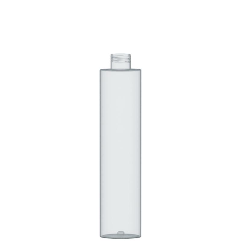 Flacone circolare 250 ml PETG, collo 24/410, linea DUBAI