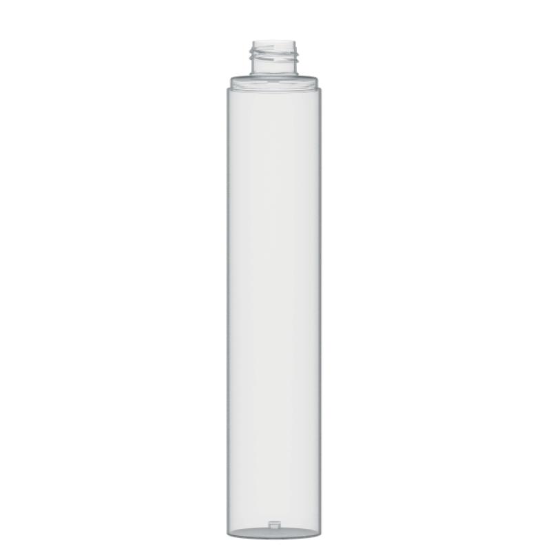 Flacone circolare 250 ml PETG, collo 24/410, linea FORTALEZA
