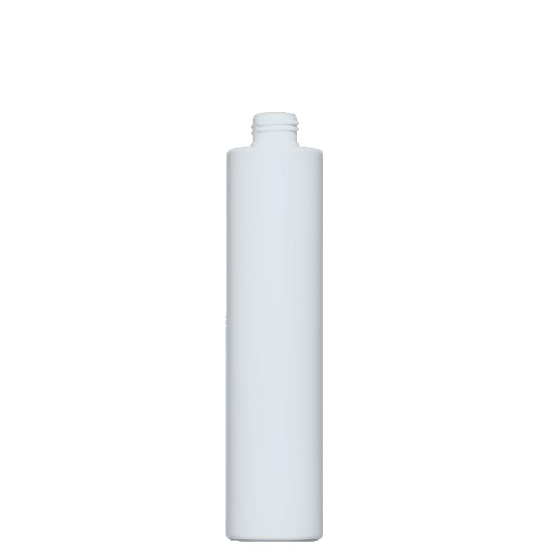 Flacone circolare 300 ml HDPE/PP, collo 24/410, linea NEW YORK