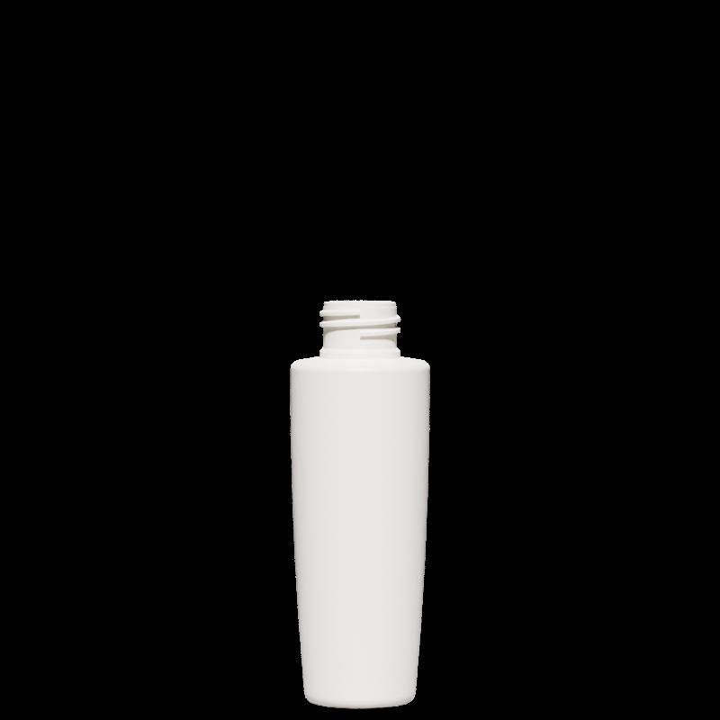Conical-truncated bottle 100 ml HDPE, neck 24/410, style MALTA