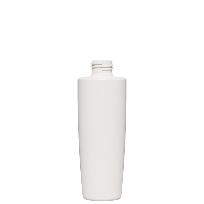 Conical-truncated bottle 200 ml HDPE, neck 24/410, style MALTA