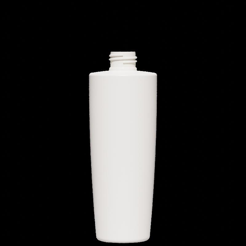 Conical-truncated bottle 300 ml HDPE, neck 24/410, style MALTA