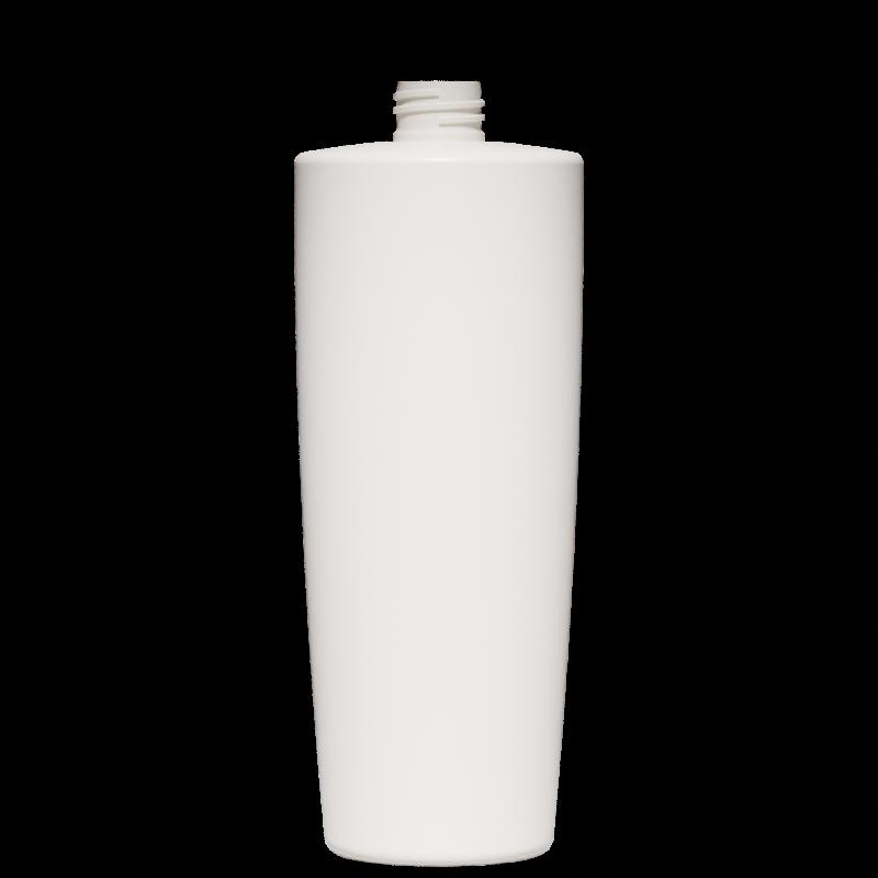 Conical-truncated bottle 1 lt HDPE, neck 28/410, style MALTA