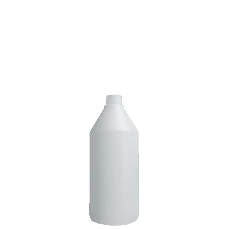 Flacone cilindirico 750 ml HDPE, collo 28/410, linea ANTIGUA (Reale)
