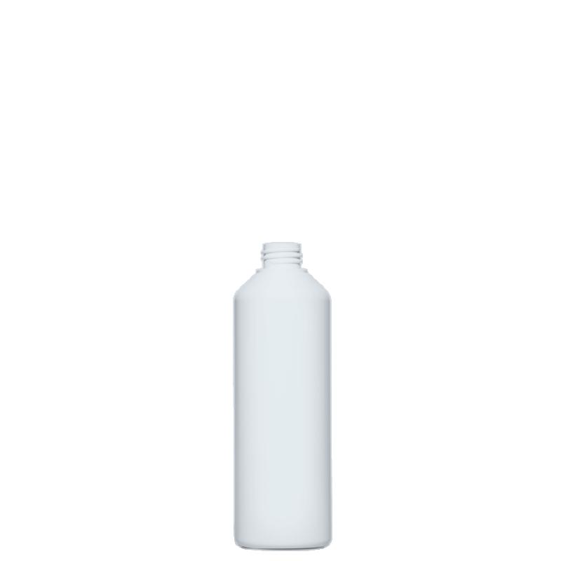 Cylindrical bottle 500 ml HDPE/COEX, neck 28/410, style ANTIGUA