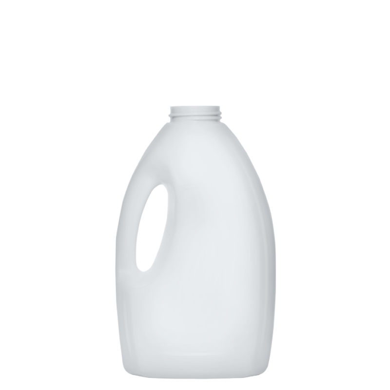 Bottle with handle 1,2 lt HDPE, neck 45 mm, style HOUSEHOLD