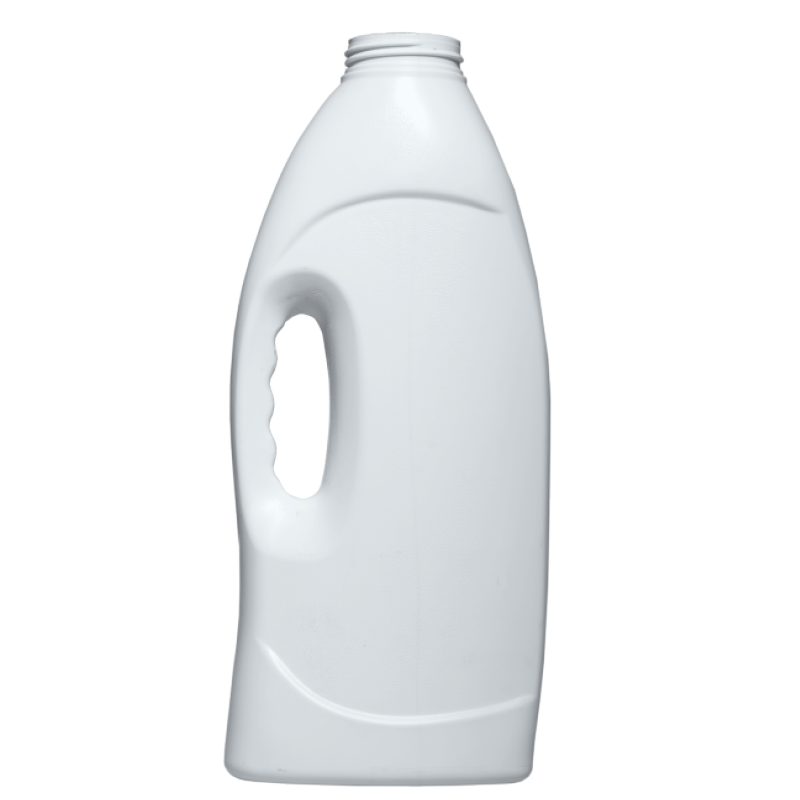 Bottle with handle 2 lt HDPE, neck 52 mm, style HOUSEHOLD